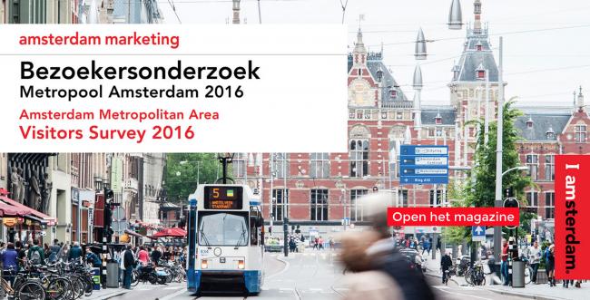 Bezoekersonderzoek Amsterdam Marketing 2016