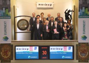 Amsterdam City opent de Beurs met een gigantische gongslag
