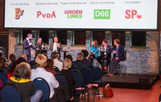 Verkiezingsdebat KHN – Amsterdam City in foto's