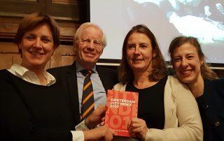Amsterdam City index stijgt met 2 punten naar 119