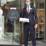 Advies: draag mondkapje voor een veilige binnenstad