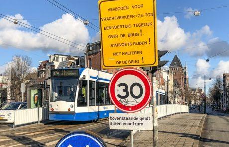 Bereikbaarheid Amsterdam in het geding